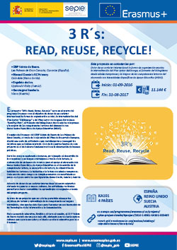 3 R's: Read, Reuse, Recycle