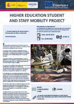 Higher education student and staff mobility project