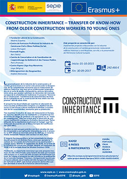Construction Inheritance – Transfer of Know-how from Older Construction Workers to Young Ones