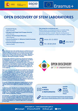 Open Discovery Of Stem Laboratories