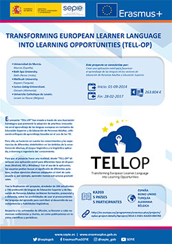 Transforming European Learner Language into Learning Opportunities (TELL-OP)