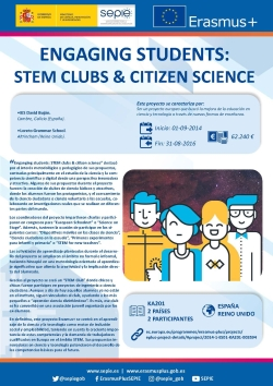 Engagin students: STEM clubs & cityizen science