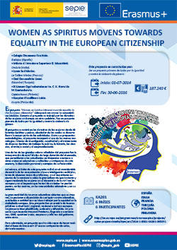 Women as spiritus movens towards equality in the european citizenship